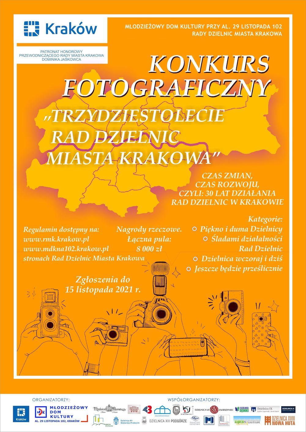 Konkurs fotograficzny z okazji 30-lecia Rad Dzielnic