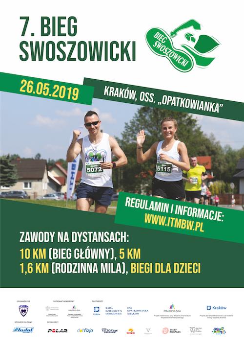 Bieg Swoszowicki 2019 Plakat