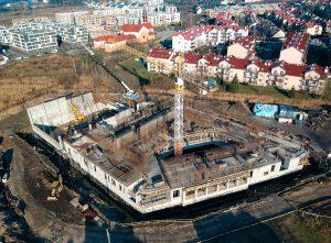 Budowa I piętra - marzec 2020 r.
